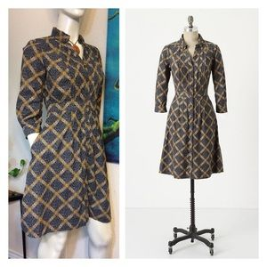Anthro Wightwick Shirtdress by Maeve in 12